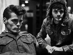 "Hudson Taylor.  Great up & coming duo. ""It's all connected to our brains."""