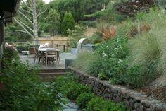 Hillside Garden modern landscape