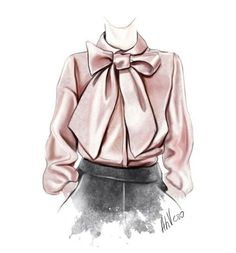 @ahvero #FashionIllustrations  Be Inspirational ❥ Mz. Manerz: Being well dressed is a beautiful form of confidence, happiness & politeness