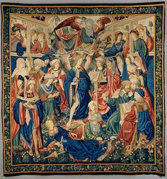The Triumph of Fame. This tapestry, or one identical to it, was purchased by Isabella, Queen of Castile and Aragon in 1504.