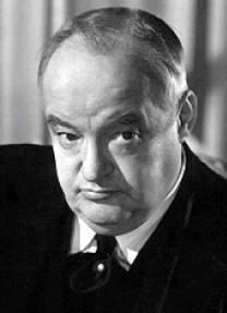 """Sydney Greenstreet. The one and only. If you haven't seen """"Christmas in Connecticut"""" do it! He was great in this movie."""