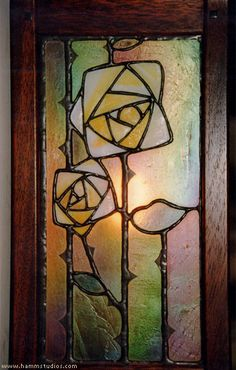 Arts and Crafts | Craftsman | Bungalow | Stained Glass