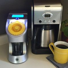 My coffee maker is in love with its new partner in crime -- our liquid vitamin dispenser from @gettespo ... I studied product design in college and I'm smitten with this new addition to our kitchen. More on the blog later this month! #behealthybehappy #coffeelover #healthychoices #healthyliving #gettespo #tespo #client
