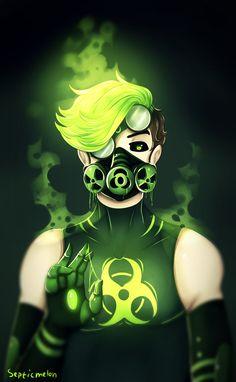 Toxic by SepticMelon on DeviantArt - Modern Scary Wallpaper, Hipster Wallpaper, Cartoon Wallpaper, Gas Mask Art, Masks Art, Logo D'art, Art Logo, Dark Anime Guys, Cool Anime Guys