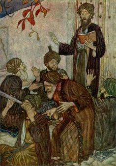 All are but Stories by Edmund Dulac