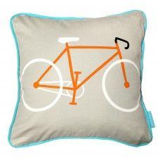 Orange Bike Cushion