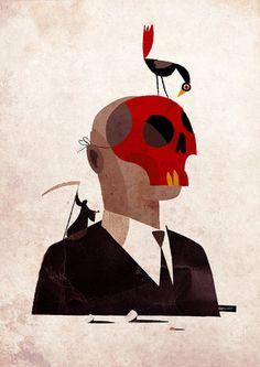 la morte la maschera e il corvo | Flickr – Photo Sharing!