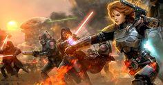Video Game Star Wars: The Old Republic Game Star Wars Battle Sci Fi Lightsaber Wallpaper Star Wars Fan Art, 4k Hd, Hd 1080p, Sith Armor, Star Wars Bounty Hunter, Electronic Arts, Star Wars The Old, X Wing Fighter, Star Wars Games