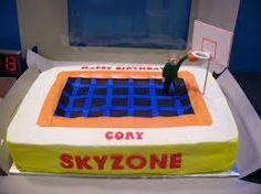 skyzone trampoline cakes - Google Search
