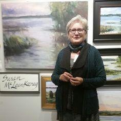 http://www.northrupkingbuilding.com/artattack #artattack2015 Sue referenced her plein air works to develop this studio piece-one in a series