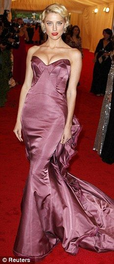 "Amber Heard: ""Schiaparelli and Prada: Impossible Conversations"" Costume Institute Gala"