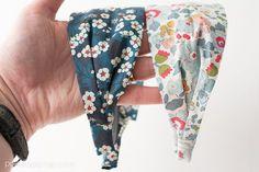 DIY Headbands from Liberty of London Fabric