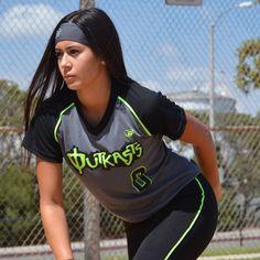 Elegance Rox Jersey #drifit #softball #travelball #custom #uniforms #girls #athlete #charcoal #jersey #headband #workout #apparel #bodywear #womem