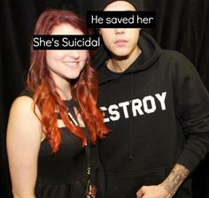 Justin saved her.... I admire that :)