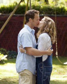 """""""Little Children"""" movie still, 2006.  L to R: Patrick Wilson, Kate Winslet."""