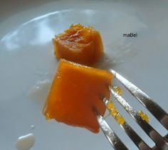 Squash or pumpkin in syrup with soda ~ pastels Marmalade, Chutney, Syrup, Squash, Jelly, Pumpkin, Sweets, Tableware, Pastels