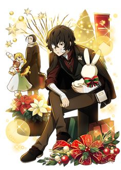 Dazai Bungou Stray Dogs, Stray Dogs Anime, Dazai Osamu Anime, Anime Guys, Manga Anime, Twin Star Exorcist, Dog Wallpaper, Dog Life, Kawaii Anime