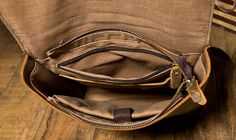Handmade Leather Backpack /Vintage Leather Macbook Briefcase 2-in-1 Leather School Bag Backpack (M101) - Thumbnail 3
