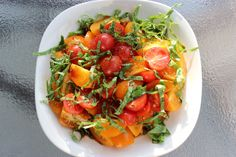 Fresh Tomato & Basil Salad   The Gluten Free Vegan