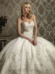 Cinderella Ballgown Wedding Dress