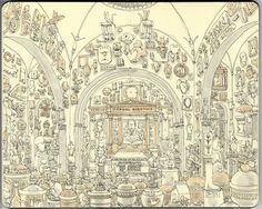 Amazing Illustrations by Mattias Adolfsson... check it out for more of his great work...