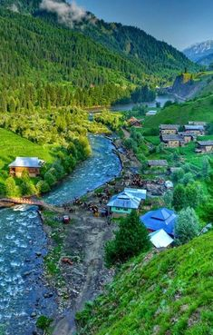 The lush Neelum Valley in Pakistan.