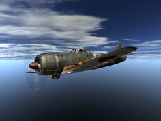 Japanese A6M3 Fighter