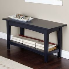 Alaterra Solid Wood Shaker Cottage Bench