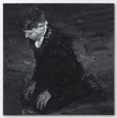Yan pei Ming, black paintings