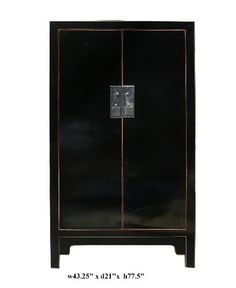 $2900 Chinese Black Lacquer Tall Armoire Cabinet Ass584 http://www.amazon.com/dp/B005G493EY/ref=cm_sw_r_pi_dp_AOaRqb08JPA6H