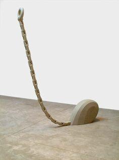 "Martin Puryear [USA] (b 1941) ~ ""Le Prix"", 2005. | #art #sculpture #conceptualart #abstract #minimalart"