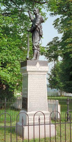 114th Pennsylvania Infantry monument at Gettysburg