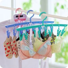 Household Supplies & Cleaning Laundry Clothes Pins Hangers 12pcs Hanging Plastic Clips Dry Drip Accessories Skillful Manufacture