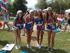 Gamma Phi Beta at University of Arizona #GammaPhiBeta #GammaPhi #BidDay #America #letters #sorority #Arizona