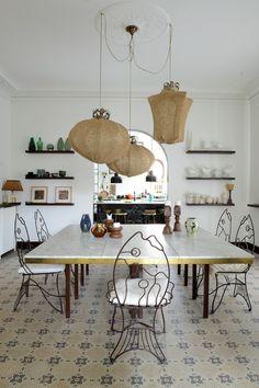 Home Interior Boho fish shaped dining room chairs.Home Interior Boho fish shaped dining room chairs Cheap Home Decor, Diy Home Decor, Decor Crafts, Home Interior, Interior Design, Interior Livingroom, Interior Paint, Design Design, Indian Home Decor