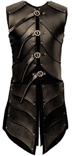 Real leather ninja medieval theatarical celtic Armor LARP SCA viking  armour SCA