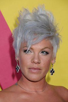 i love my grey hair | chic inspiration: Loving.. Grey Hair.