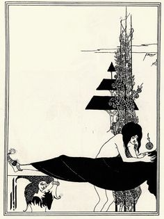 Aubrey Beardsley - Salome: A Platonic Lament.