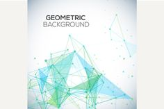 Vector geometric background by kanva777 on Creative Market
