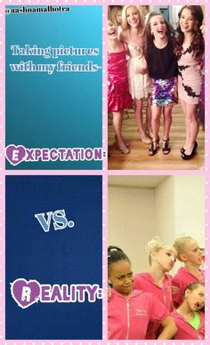 Expectation VS reality-Dance Moms comics credit to @aashnamalhotra