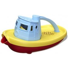 Water play on a hot Christmas Day - great idea - Green Toys - Eco Friendly Tug Boat #Entropywishlist #pintowin