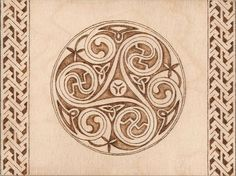 Celtic Triple Spiral - Triskelion