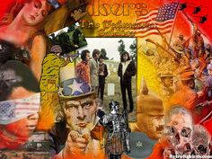 Doors-unknown-soldier-Classic-Rock-Music-Psychedelic-60s-Wallpaper by retrorebirth, via Flickr