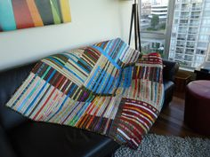 Think this is Needles and Lemons, but I can't get back to the original image –amazing quilt.