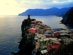 Vernazza is a beautiful hidden gem of Italy. Click the pic to read about my trip here and why I loved it more than anywhere else in Italy #italy #vernazza #Mediterranean #town #village #photography #ocean #sea #mountains #sunset #travel #trip #honeymoon #destination #vacation #secret #bestof #europe