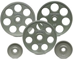Ivanko 2575 lb EZ Lift Cast Iron Olympic Plate Package Deal for Olympic Bars >>> You can find more details by visiting the image link.(This is an Amazon affiliate link and I receive a commission for the sales)
