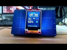Arduino ST7735 İle Saat ve Sıcaklık - Proje HOCAM
