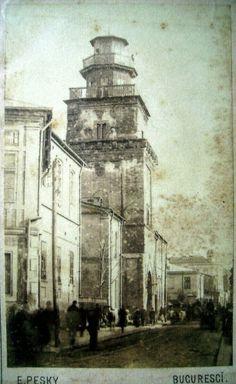 Turnul Colței, E.Pesky 1881...