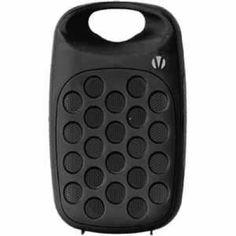 Vivitar Clip Tunes Speaker - Bluetooth - Black