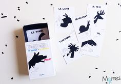 jeu ombres chinoises Activities For Kids, Crafts For Kids, Halloween Treat Bags, Pajama Party, View Map, Reggio Emilia, Montessori, Playing Cards, Clip Art
